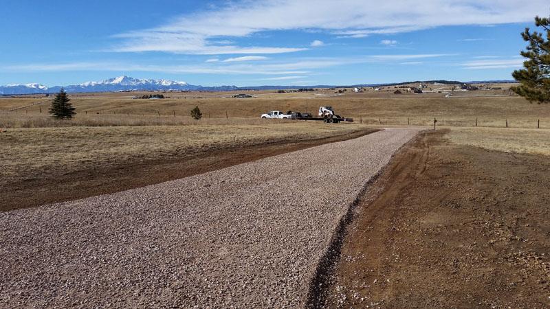 Class 6 rhyolite road base