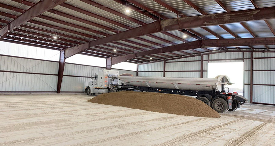 Horse Arena Barn Pad and Sand