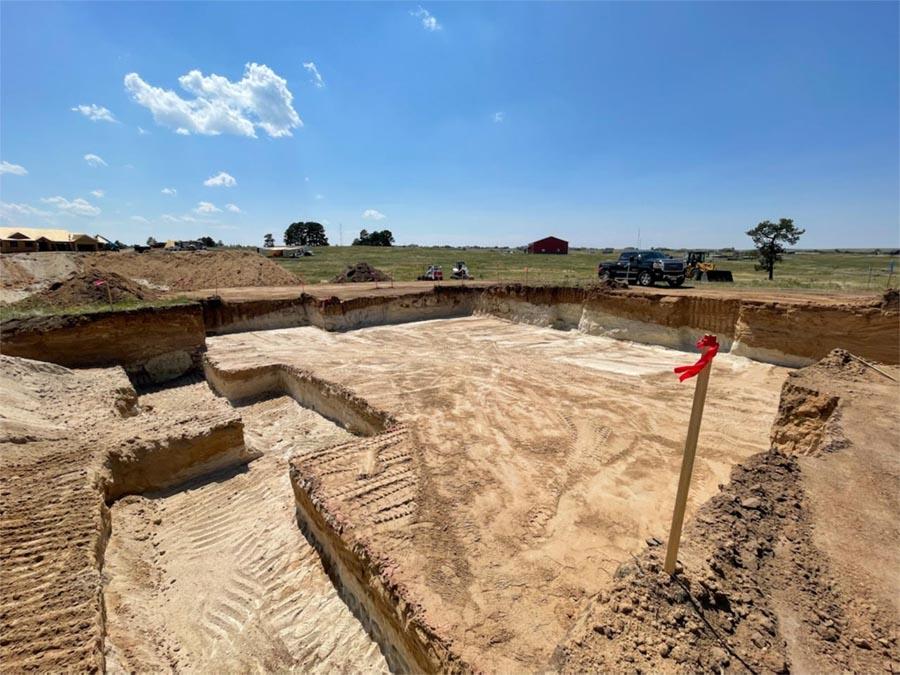 Foundation Excavation in Elizabeth